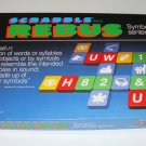 Vintage 1986 Selchow & Righter Scrabble Rebus Game