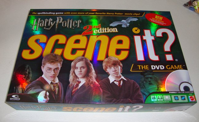 2007 Mattel Harry Potter 2nd Edition Scene It? DVD Game