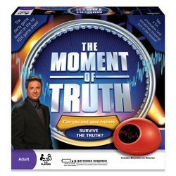 Selchow & Righter 2008 The Moment of Truth Board Game
