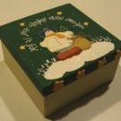 CMI Henton Papier Mache Christmas Ornaments Set of 4 MIB