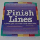 Vintage 1999 Games For All Reasons Finish Lines Board Game