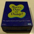 Vintage 2003 Parker Marry, Date or Dump? Game
