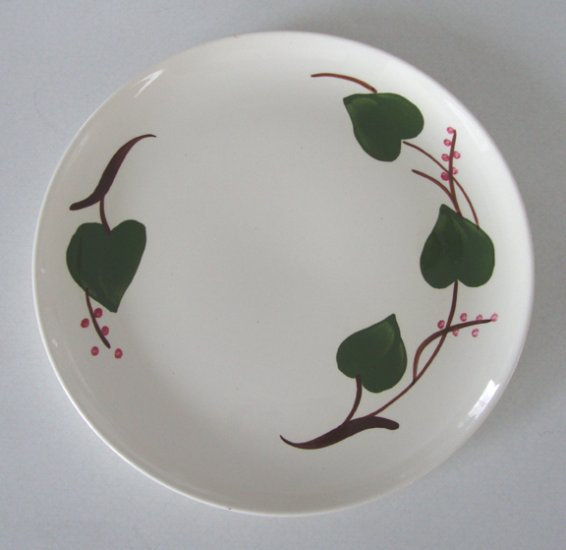 Vintage Blue Ridge Handpainted Stanhome Ivy Dinner Plate