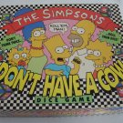 Vintage 1990 Milton Bradley The Simpsons Don't Have A Cow Dice Game