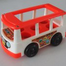 Vintage Fisher Price Little People Fisher Price Mini Bus 141