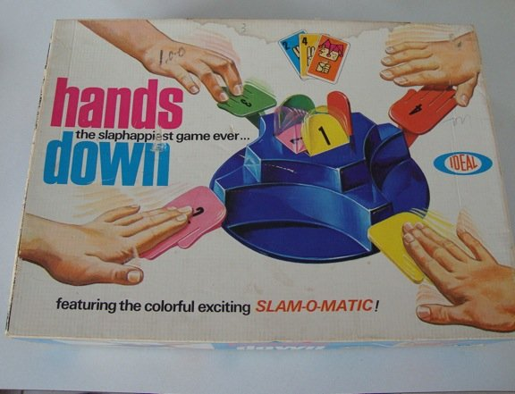 Vintage Ideal 1965 Hands Down Game
