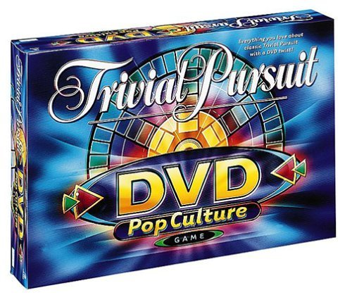 Parker Brothers 2003 Trivial Pursuit DVD Pop Culture Board Game