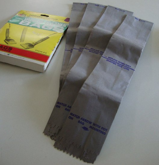 Vintage NOS Kmart K-6 Vacuum Cleaner Bags for Hoover Upright Convertibles