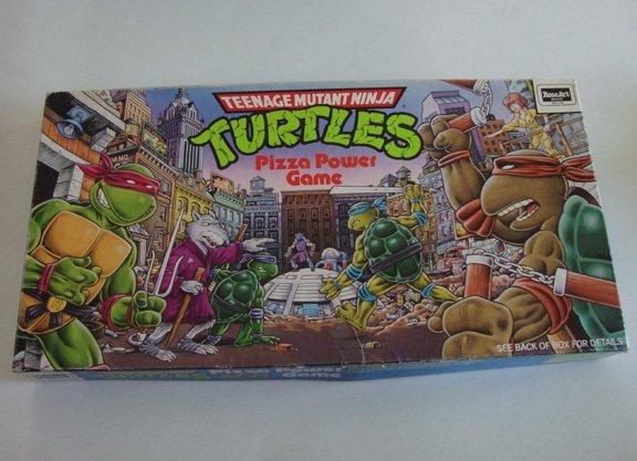 Vintage 1987 RoseArt Teenage Mutant Ninja Turtles: Pizza Power Board Game