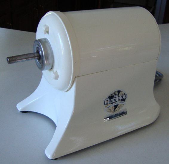Vintage 1992 Champion G5-NG-853S HEAVY DUTY JUICER  1/3 HP