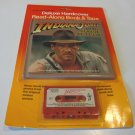Vintage 1984 Buena Vista Indiana Jones Temple of Doom Deluxe Hardcover Read-Along Book & Tape Sealed