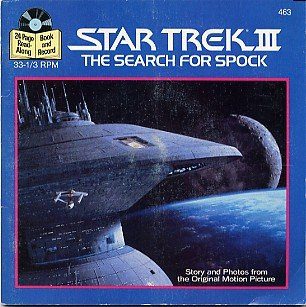 Vintage 1984 Read-Along Adventure Star Trek III The Search For Spock Record [Audiobook] Sealed