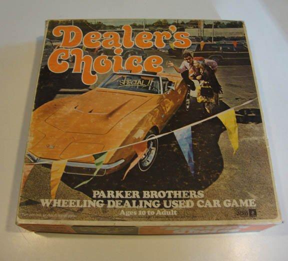 Vintage 1972 Parker Bros. Dealer's Choice Game
