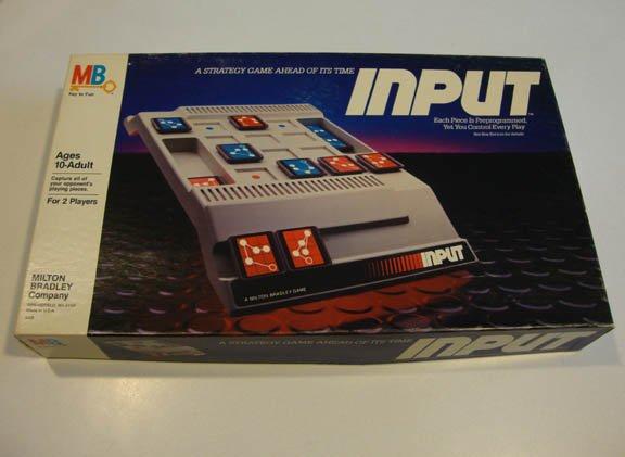 Vintage 1984 Milton Bradley Input Game