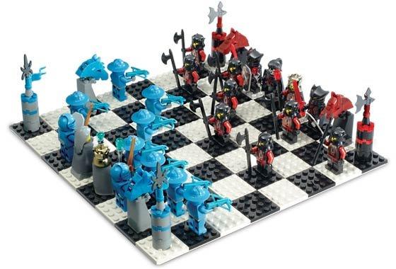 LEGO Knights Kingdom CHESS Set # 4277678 - 2005