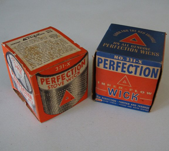 Vintage Perfection Stove Wick 331X w/ instructions Set of 2
