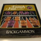 Vintage World of Family Fun Backgammon Game