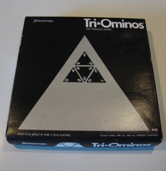 Vintage 1970s Pressman Tri-Ominos