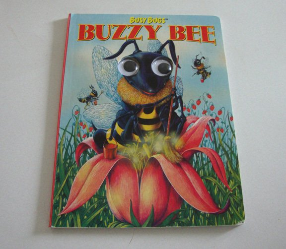 Vintage 1998 Busy Bugs Buzzy Bee Childrens Book ISBN-10: 076660313X
