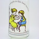 Vintage Coca-Cola Limited Ed. Holly Hobbie Glass Tumbler