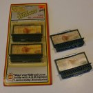 Vintage Train AHM HO Scale Lighted Landscaping Accessories Billboards # 15935 Set of 4