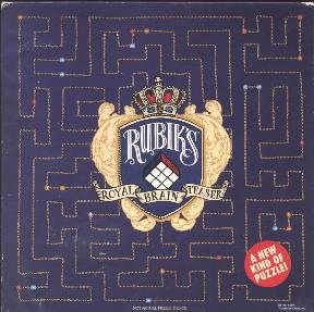 Vintage 1991 Springbok Rubik's Royal Brainteaser Puzzle #PZL3446