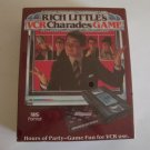 Vintage 1985 Parker Brothers Rich Little's VCR Charades Board Game