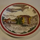 "Vintage Vernon Kilns Mission Series ""Mission San Juan Capistrano"" Plate"