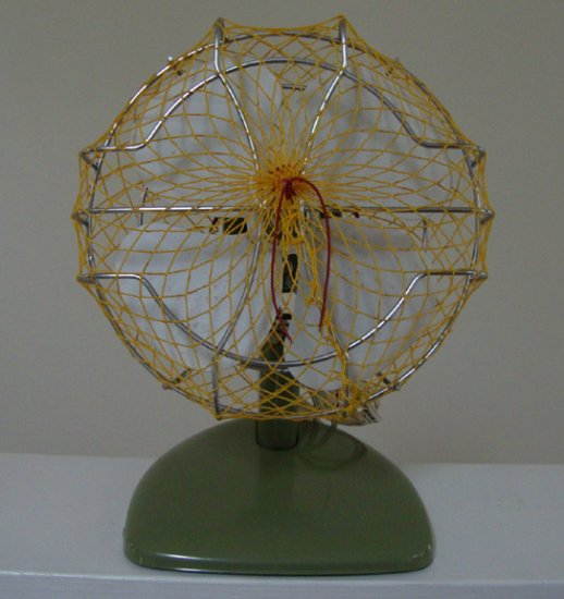 """Vintage Superior Electric 8"""" Desk Fan circa 1950s No. 808 in Orig Box"""