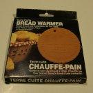 Vintage Fox Run Craftsmen Terra Cotta Bread Warmer MIB