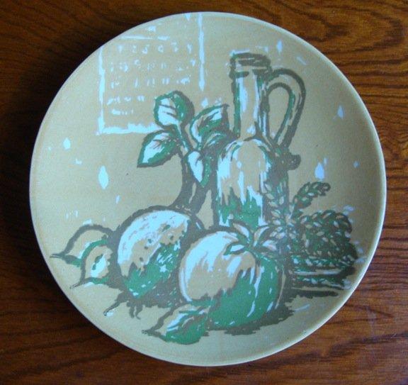 Royal USA Bacchanale Salad Plate Set of 4