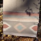 Vintage Southwest Design Wool Blanket or Rug