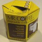 Vintage 1970s Mr. Coffee Paper Coffee Filters in Original Box