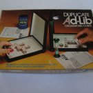 Vintage 1975 Lowe Duplicate AD-LIB Crossword Cubes Game