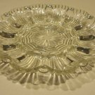 Vintage 1950s Anchor Hocking Fire King EAPG Pressed Glass Deviled Egg Plate