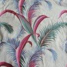 Vintage 40s-50s Fernery Barkcloth Drapery Panel