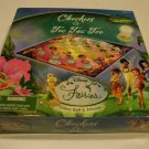 2007 Disney Fairies Tinker Bell & Friends Checkers & Tic Tac Toe Game