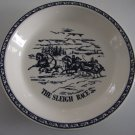 Vintage Currier & Ives Pie Plate Baker - The Sleigh Race