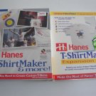 Vintage 1996 Hanes T-ShirtMaker & More  PLUS Hanes T-ShirtMaker Expansion Pack MIB