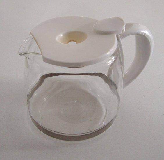 Black & Decker 5-cup Coffee Carafe Model #GC500 - White
