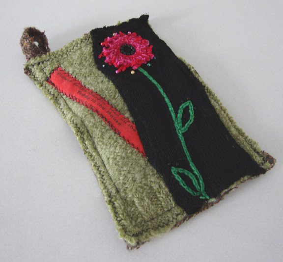 NEW Susie Q Handmade Recycled Sweater Hot Pad - Cat Rescue Benefit