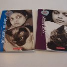 American Girl Paperback Set of 2 - Homeless: Sunita Wild at Heart & Storm Rescue Wild at Heart