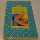 Avon No Nonsense Cooking Guide Microwave Main Courses Quick & Easy Cookbook