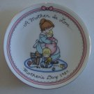 Avon Joan Walsh Anglund Mother's Day 1987 Collectors Plate
