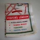 Vintage Visitors London Tea Towel - Irish Linen