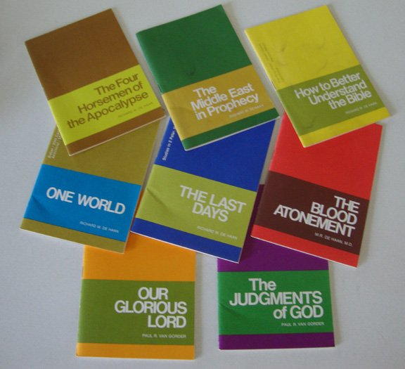 Vintage 1970s Radio Bible Class Booklets - Set of 8