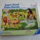 Ravensburger Horses Galore Super Sized Floor Jigsaw Puzzle 24 Pc