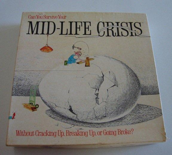 Vintage 1982 Game Works Mid-Life Crisis Board Game