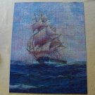 Vintage Croxley 500 Piece Puzzle Series 4611A 'Down the Trade Winds'