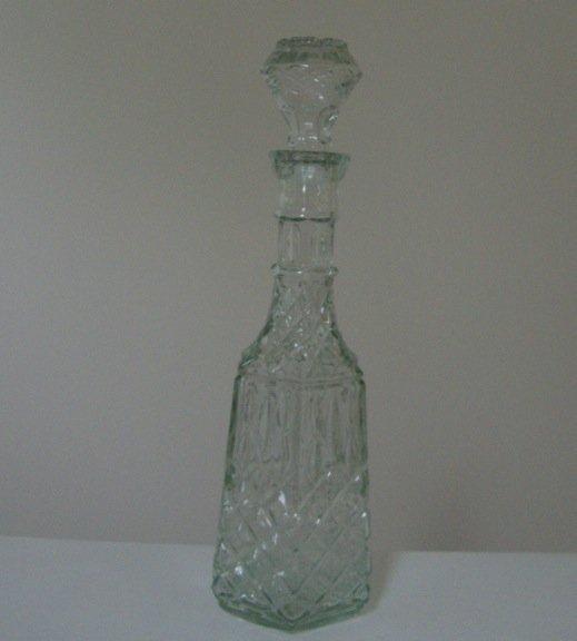 Vintage Libbey Cambridge Glass Decanter - in orig. box